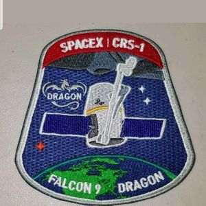 SpaceX CRS-1 Falcon 9 Dragon NASA Mission Patch.
